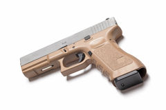 pistola de 9mm Fotografia de Stock Royalty Free