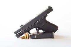 pistola de um calibre de 38 milímetros Fotografia de Stock Royalty Free