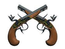 Pistola dei pirati Fotografia Stock