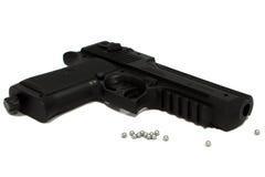 Pistola del aire Imagen de archivo libre de regalías