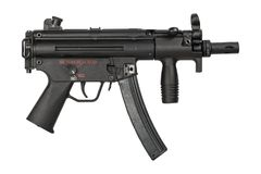 Pistola del airsoft di stile MP5 fotografia stock