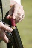 Pistola del colpo di Purdy di caricamento Fotografia Stock Libera da Diritti