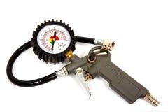 Pistola del compressore d'aria Fotografie Stock Libere da Diritti
