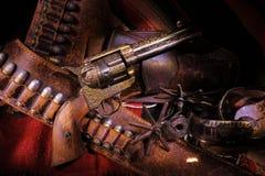 Pistola del cowboy Immagini Stock Libere da Diritti