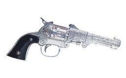 Pistola del cowboy del giocattolo fotografia stock libera da diritti