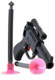 Pistola del dardo con due dardi Immagine Stock Libera da Diritti