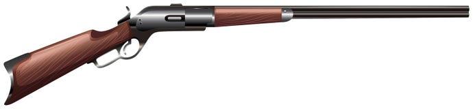 Pistola del fucile illustrazione di stock