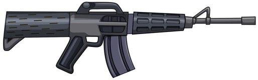 Pistola del fucile nella progettazione moderna royalty illustrazione gratis