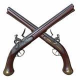 Pistola del fusil de chispa fotografía de archivo