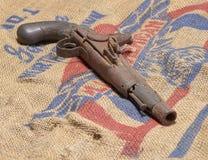 Pistola del fusil de chispa Fotos de archivo