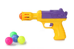 Pistola del giocattolo Fotografie Stock