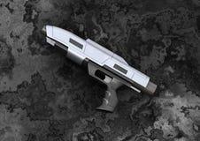 Pistola del haz ilustración del vector