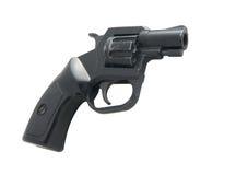 Pistola del nero 9mm Immagine Stock Libera da Diritti
