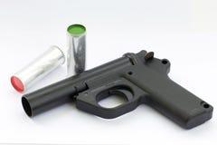 Pistola del segnale Fotografia Stock