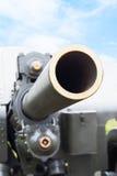 Pistola dell'artiglieria Fotografia Stock