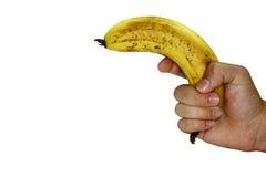 Pistola della banana Immagini Stock