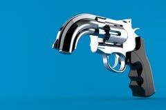 Pistola della curvatura illustrazione di stock