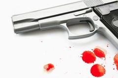Pistola della mano Fotografia Stock Libera da Diritti