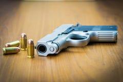 pistola della mano da 380 millimetri Fotografia Stock Libera da Diritti