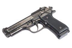 Pistola della mano di Beretta Fotografie Stock Libere da Diritti