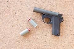 Pistola della pistola del lanciarazzo di segnalazione Fotografia Stock