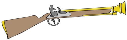 Pistola della polvere nera del trombone Fotografia Stock Libera da Diritti