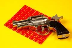 Pistola del cappuccio Fotografie Stock Libere da Diritti