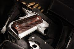 Pistola della rivoltella fotografie stock libere da diritti