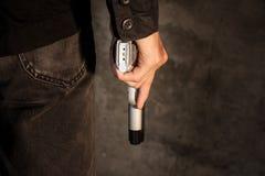 Pistola della rivoltella fotografia stock libera da diritti