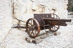 Pistola di campo antica Immagine Stock Libera da Diritti