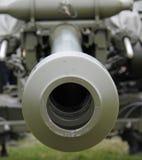 Pistola di campo militare. Immagine Stock