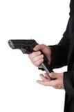 Pistola di caricamento. Immagini Stock Libere da Diritti