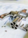 Pistola di Disasembled Fotografie Stock