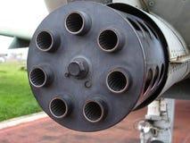 Pistola di Gattling Fotografia Stock Libera da Diritti