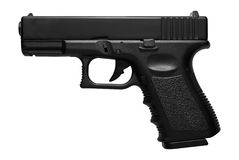 Pistola di Glock Airsoft Fotografie Stock