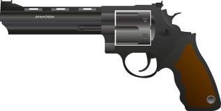 Pistola di pendenza Magnum 44 royalty illustrazione gratis