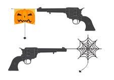 Pistola di scherzo di Halloween Immagine Stock Libera da Diritti