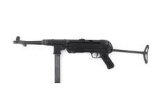 Pistola di submachine tedesca MP40 Fotografie Stock