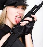 Pistola di Tommy Fotografie Stock