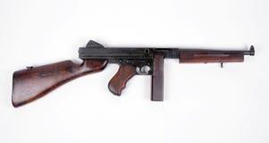 Pistola di Tommy americana. Fotografia Stock Libera da Diritti