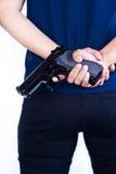 Pistola a disposizione Fotografia Stock