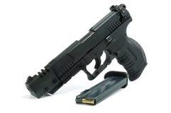 Pistola e richiami fotografia stock libera da diritti