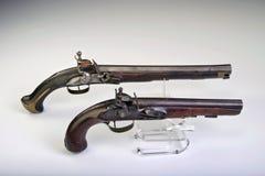 Pistola del Flintlock. Fotografia Stock
