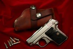 Pistola Hammerless della tasca del puledro 1908 Fotografie Stock Libere da Diritti