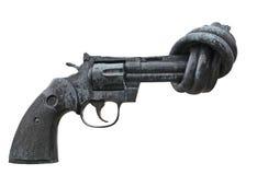 Pistola isolata Fotografia Stock