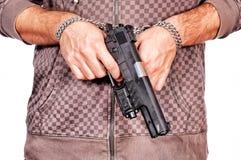 Pistola Locked immagine stock