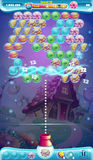 Pistola móvil de la burbuja de la ventana del juego del GUI del mundo dulce stock de ilustración