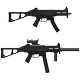 Pistola a macchina Immagine Stock Libera da Diritti