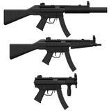 Pistola a macchina Fotografia Stock