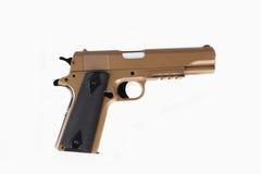 Pistola moderna de la escopeta de aire comprimido aislada Fotos de archivo libres de regalías